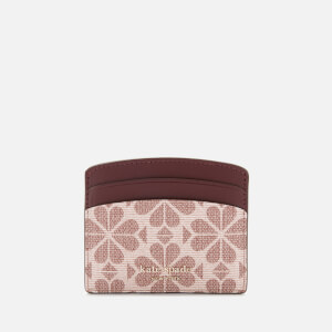 Kate Spade New York Women's Spade Flower Card Holder - Pink Multi