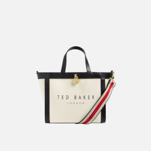 Ted Baker Women's Junipar Canvas Small Tote Bag - Black