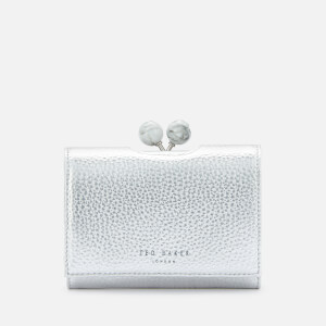 Ted Baker Women's Moily Metallic Marble Mini Bobble Purse - Silver