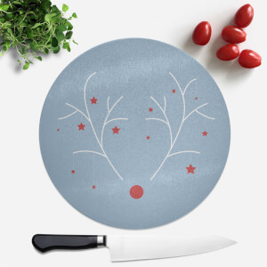 Rudolph Round Chopping Board