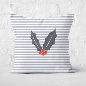 Holly Stripes Square Cushion