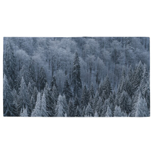 Frosted Trees Fitness Towel
