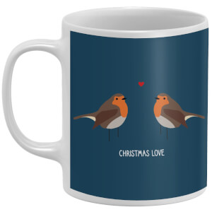 Robin Christmas Love Mug