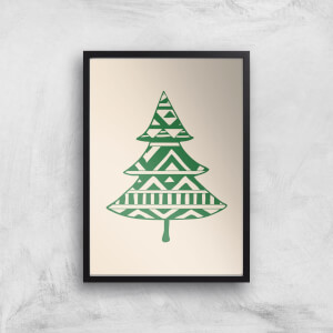 Patterned Tree Giclee Art Print