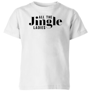 All The Jingle Ladies Kids' T-Shirt - White