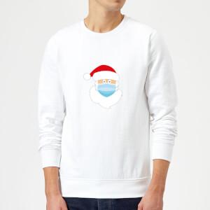 Covid Santa Sweatshirt - White