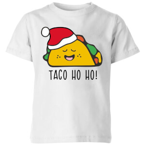 Taco Ho Ho! Kids' T-Shirt - White