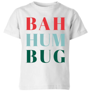 Bah Hum Bug Kids' T-Shirt - White