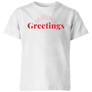 Season's Greetings Kids' T-Shirt - White