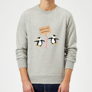 North Pole Lockdown Sweatshirt - Grey