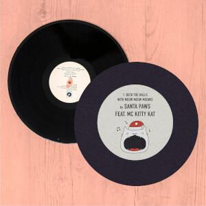 Santa Paws Record Slip Mat