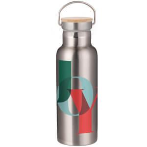 Joy Portable Insulated Water Bottle - Steel