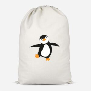 Penguin Santa Sack