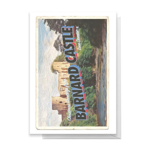 Barnard Castle Greetings Card