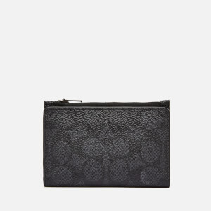 Coach Men's Bifold Card Case - Charcoal
