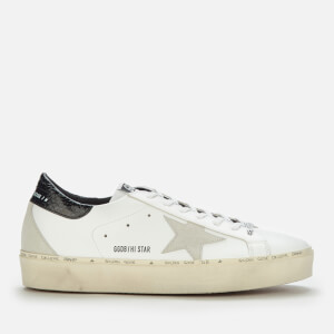 Golden Goose Deluxe Brand Men's Hi Star Leather Trainers - White/Ice/Black