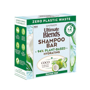 Garnier Exclusive Ultimate Blends Coconut Hydrating Shampoo Bar with Aloe Vera for Normal Hair 60g