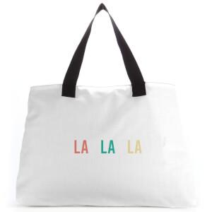 La La La Large Tote Bag