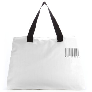 Re- Useable Barcode Large Tote Bag