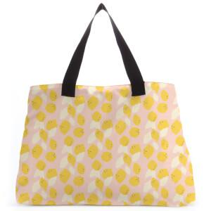 Lemons Large Tote Bag