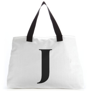 J Large Tote Bag