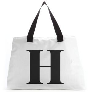 H Large Tote Bag