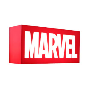 Hot Toys UK Exclusive Marvel Logo Mini Lightbox