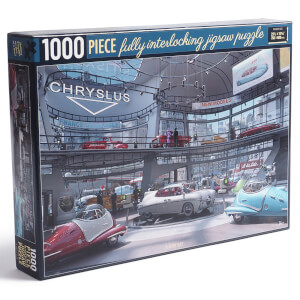 Fallout Chryslus Showroom Jigsaw Puzzle - A Busy Day