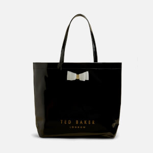 Ted Baker Women's Hanacon Bow Large Icon Tote Bag - Black