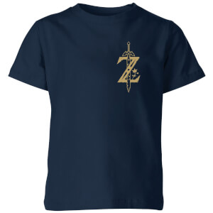 Zelda Kids' T-Shirt - Navy