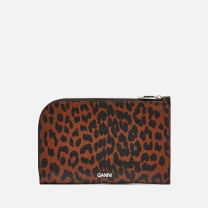 Ganni Women's Large Wallet - Toffee