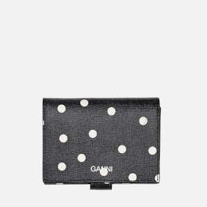 Ganni Women's Polka Dot Wallet - Sky Captain