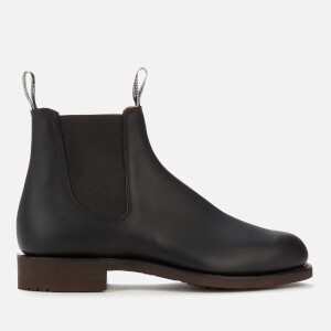 R.M. Williams Men's Gardener Leather Chelsea Boots - Black