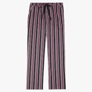 Les Girls Les Boys Women's Girls PJ Bottoms - Black Stripe