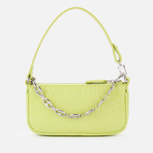 by FAR Women's Mini Rachel Croco Bag - Matcha