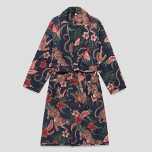 Desmond & Dempsey Women's Soleia Robe - Navy