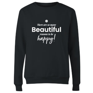 GLOSSYBOX There Are So Many Beautiful Reasons Women's Christmas Jumper - Black
