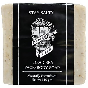 Modern Pirate Stay Salty Dead Sea Face/Body Soap 110g