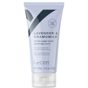 Lycon Oil Free Sugar Scrub - Lavender And Chamomile 100g