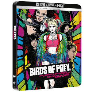 Birds of Prey - Zavvi Exclusive 4K Ultra HD Steelbook (Includes Blu-ray)