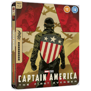 Marvel Studios' Capitán América - Mondo #43 Steelbook Exclusivo de Zavvi 4K Ultra HD  (incluye Blu-ray)