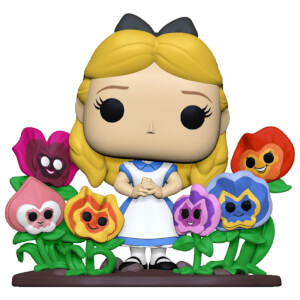 Disney Alice in Wonderland 70th Alice with Flowers Funko Pop! Deluxe Vinyl