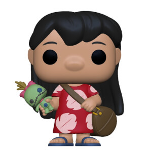 Disney Lilo & Stitch Lilo with Scrump Funko Pop! Vinyl