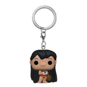 Lilo & Stitch S2 Lilo w/Camera Pop! Keychain