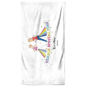 Rick and Morty Female Special Time Bath Towel