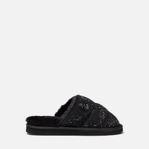 MICHAEL MICHAEL KORS Women's Janis Studded Mule Slippers - Black