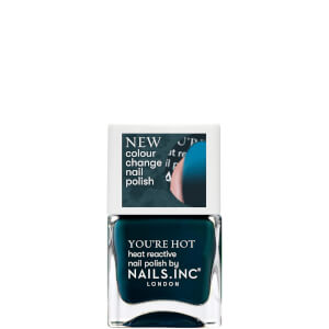 nails inc. A Hot Minute Thermochromic Polish