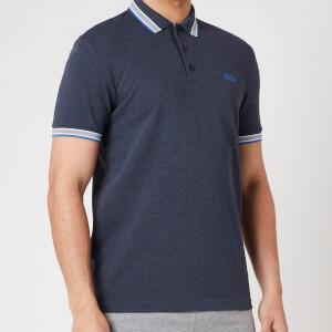 BOSS Athleisure Men's Paddy Pique Polo Shirt - Medium Blue