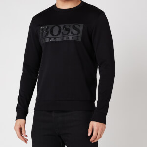 BOSS Athleisure Men's Salbo Diamond 2 Sweatshirt - Black