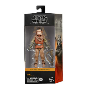 Figura de Acción Hasbro Star Wars The Black Series Kuiil